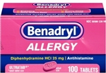 Benadryl Ultra Tab Tablets | Bulk Case of 7200