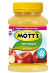 Motts Unsweetened Applesauce Apple - 23 Oz.