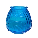 Euro Venetians Blue Glass