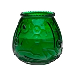 Euro Venetians Green Glass