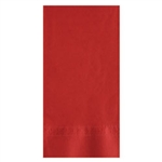 Red 2 Ply Dinner Napkin