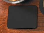 Pulpboard Light Weight Black Square Coaster