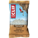 Clif Peanut Toffee Buzz Snack Bar - 2.4 oz.