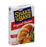 Kraft Shake N Bake Original Chicken Coating Mix - 4.5 oz. - 12 per case