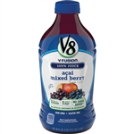 V8 Beverage Fusion Acai Mixed Berry - 46 Fl.oz.