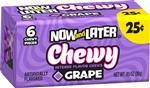 Now and Later Soft Grape Changemaker Candy - 0.93 Oz.