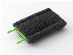 Heavy Duty Cleaning Pad Gray