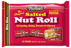 Salted Nut Roll Bagged Bite Size - 11 Oz.