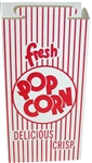 Automatic Bottom Popcorn Box with Hook and Eye Reclose Top - 47 Oz.