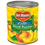 Sliced Yellow Cling Peaches In Extra Light Syrup Delmonte - 29 Oz.