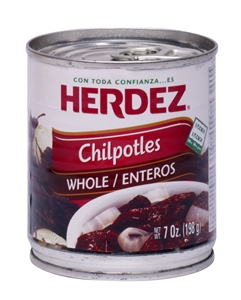 Herdez Peppers Chipotle in Adobo Sauce - 7 Oz.