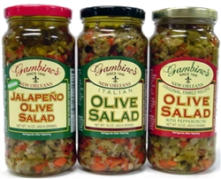 Olive Salad Italian - 1 Gallon
