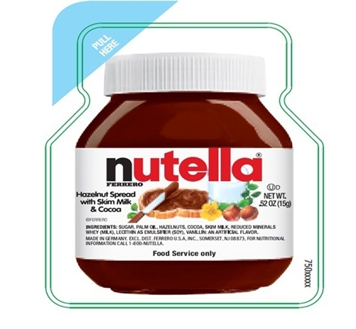 Nutella Foodservice Portion Control Pack 0 52 Oz
