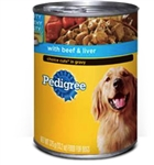 Pedigree Dog Food Choice Cuts with Beef and Liver - 22 Oz.