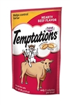 Whiskas Temptations Cat Treats Hearty Beef Flavor - 3 Oz.