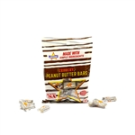 Peanut Butter Bar Peg Bag Candy - 4 Oz.