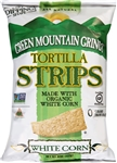 Green Mountain Gringo Organic White Low Air Tortilla Strips - 8 oz.