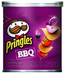 Pringles Barbecue Potato Crisp - 1.41 Oz.