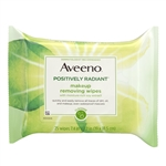 Aveeno Positively Radiant Wipes