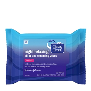 Night Relax Cleansing Wipes
