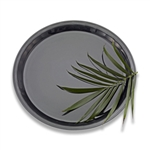 Conserve Round Tray Black - 18 in.