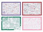 Placemat Paper Color Me Refill - 9.75 in. x 14 in.
