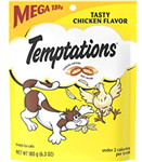 Whiskas Temptations Tasty Chicken Flavor Mega Bag - 6.35 oz.