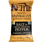 Kettle Krinkle Potato Chip Salt and Pepper  - 5 Oz.
