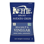 Kettle Sea Salt and Vinegar Potato Chips - 5 Oz.