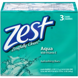 Zest Aqua Bar Soap - 12 oz.