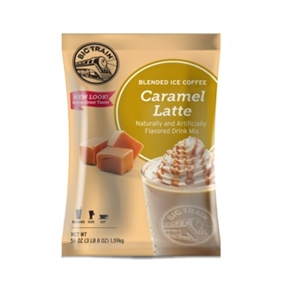 Caramel Latte Blended Ice Coffee Powdered Drink Mix - 3.5 Pound