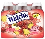 Fruit Punch Drink Juice Pet Bottles - 16 Fl.oz.
