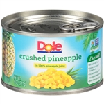 Pineapple Crushed in Juice - 8 Oz.