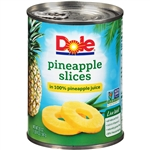 Pineapple Sliced In Juice - 20 Oz.