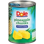 Pineapple Chunks In Syrup - 20 Oz.