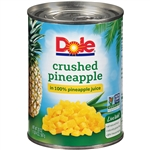 Pineapple Crushed in Juice - 20 Oz.