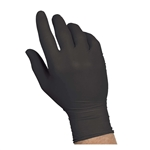 Black Nitrile Powder Free Medium Gloves