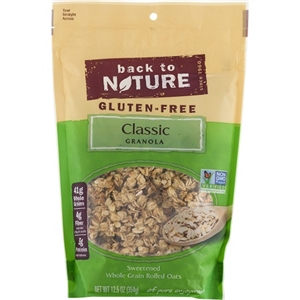 Back To Nature Gluten Free Granola Classic - 12.5 Oz.