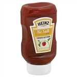 Heinz Tomato Ketchup No Salt Added - 14 Oz. - 6 per case