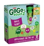Gogo Squeez Apple Berry 4 Pouch