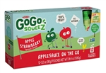 Gogo Squeez Apple Strawberry 12 Pouch