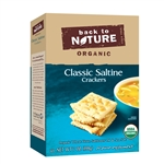 Back To Nature Organic Classic Saltine Crackers - 7 Oz.