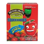 Musselmans Unsweetened Squeezable Applesauce - 3.17 oz.