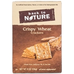 Back To Nature Grab And Go Crispy Wheat Cracker - 8 oz.