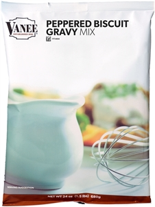 Peppered Biscuit Gravy Mix - 24 oz.