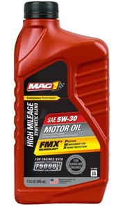 Synthetic Blend High Mile 5W30 Oil - 32 oz.