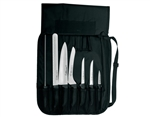 Soft Grip Cutlery Set 7 Piece Black Handle