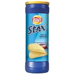 Lays Stax Salt and Vinegar Potato Crisps - 5.5 oz.