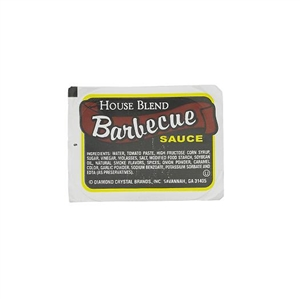 House Blend Barbecue Sauce Cup - 1 Oz.