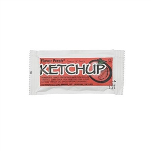 Condiment Ketchup Poly Bag - 9 Gr.